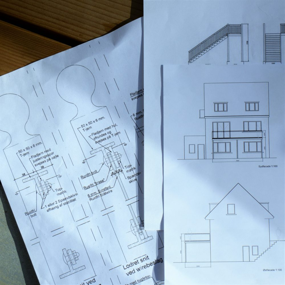 Vi design stålaltaner i alle former rundbue, firkantet osv.